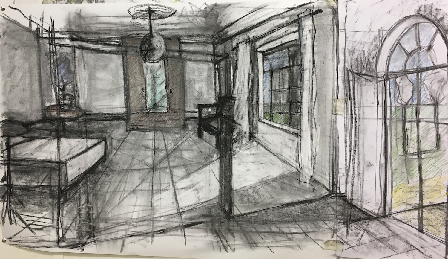Sketch 2 for Imagined Realities (AR)