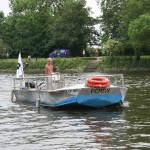 photo of foot ferry on the Thames