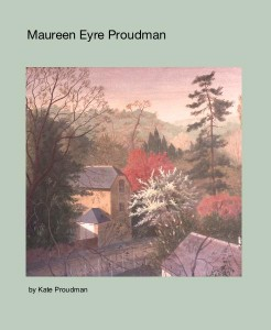 Pale green book cover with title and landscape image